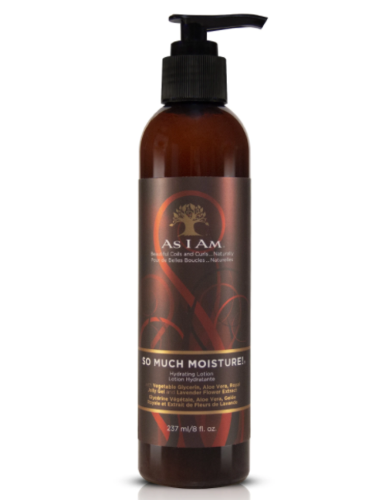 AS I AM So Much Moisture! Lotion 8 oz.