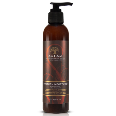 AS I AM So Much Moisture! Hydrating Lotion 8 oz.