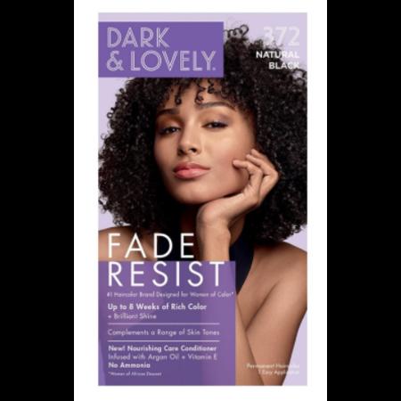 DARK & LOVELY Hair Color 372 - Natural Black