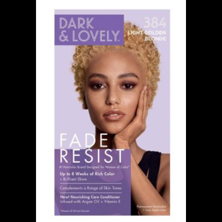 DARK & LOVELY Hair Color 384 - Light Golden Blonde