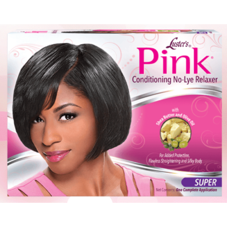 PINK No-Lye Relaxer System Super Strength