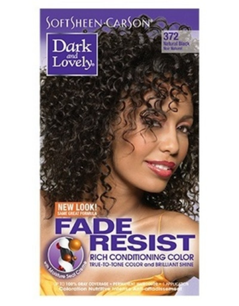 DARK & LOVELY Hair Color 372 - Natural Black