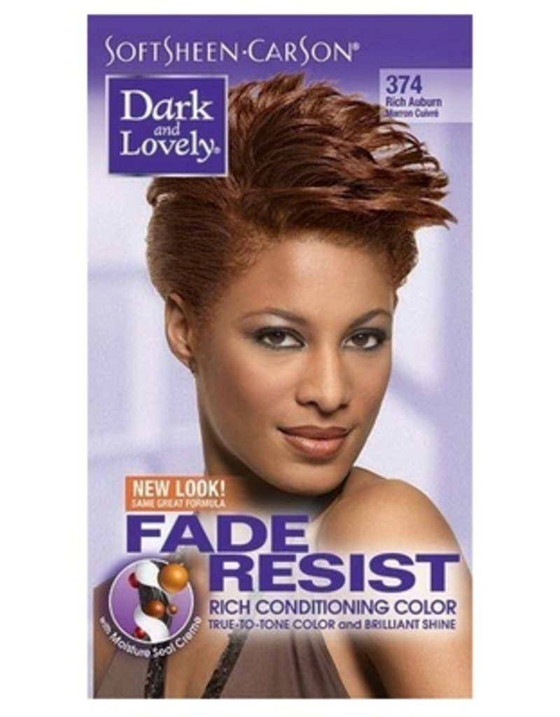 DARK & LOVELY Hair Color 374 - Rich Auburn