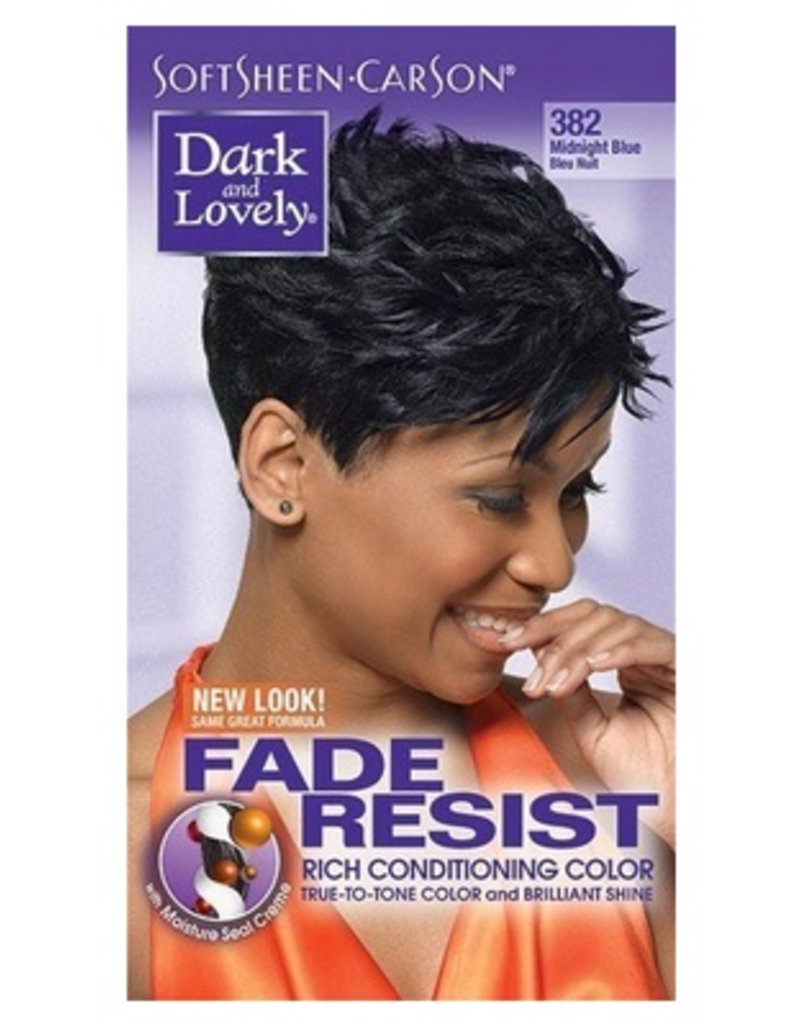 DARK & LOVELY Hair Color 382 - Midnight Blue