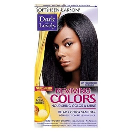 DARK & LOVELY Reviving Color 391 - Radiant Black