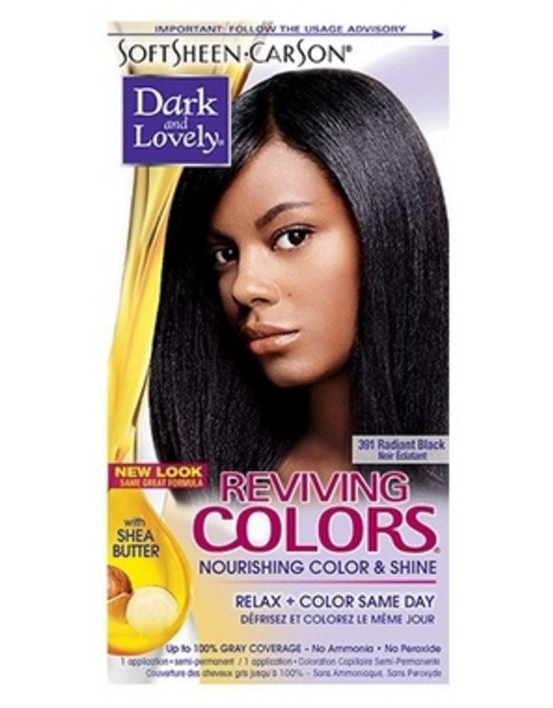 DARK & LOVELY Reviving Color 391 - Radiant Black