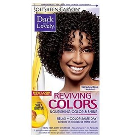DARK & LOVELY Reviving Color 395 - Natural Black