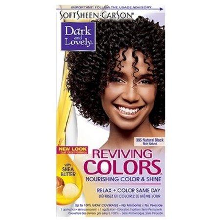 DARK & LOVELY Reviving Color 395 - Natural Black