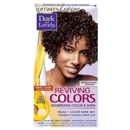DARK & LOVELY Reviving Color 392 - Ebone Brown