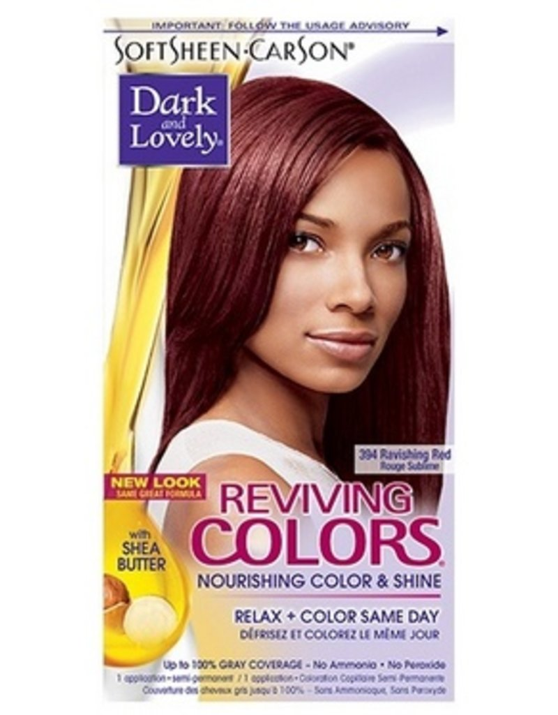 DARK & LOVELY Reviving Color 394 - Ravishing Red
