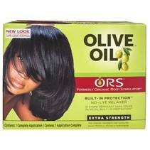 Olive Oil No-Lye Relaxer Extra Strength
