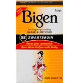 BIGEN #58 - Zwartbruin