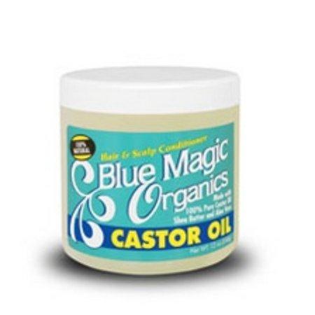 BLUE MAGIC Organics Castor Oil 12 oz
