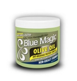 BLUE MAGIC Olive Oil Leave In Styling Conditioner 12 oz