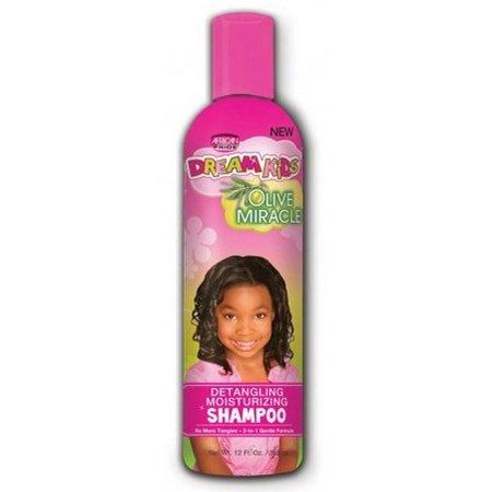 AFRICAN PRIDE DREAM KIDS Detangling Moisturizing Shampoo 12 oz