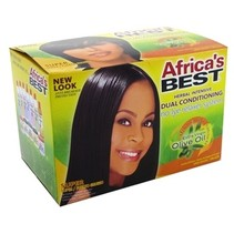 Olive Oil No-Lye Relaxer System Super