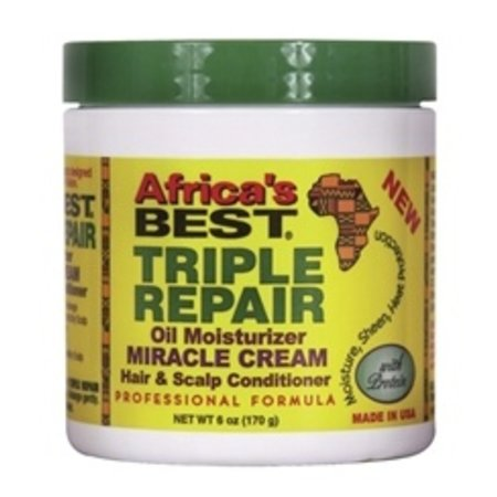 AFRICA'S BEST Triple Repair Miracle Cream 6 oz