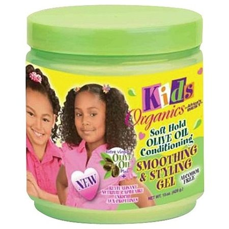 AFRICA'S BEST KIDS ORGANICS Olive Oil Smoothing & Styling Gel 15 oz