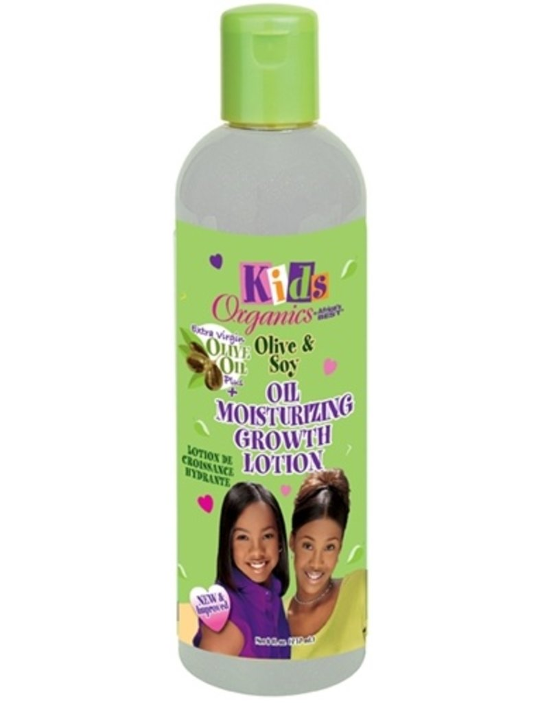 AFRICA'S BEST KIDS ORGANICS Olive & Soy Moisturizing Growth Lotion 8 oz
