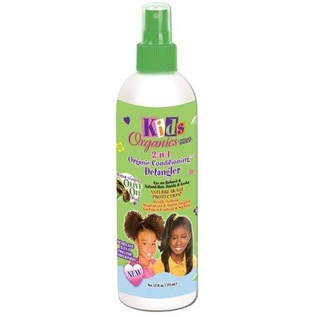 AFRICA'S BEST KIDS ORGANICS 2-n-1 Organic Conditioning Detangler 12 oz