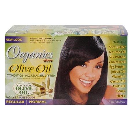AFRICA'S BEST ORGANICS Olive Oil Relaxer System Regular