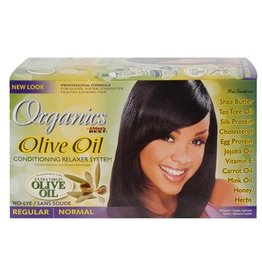 AFRICA'S BEST ORGANICS Olive Oil Relaxer System Super