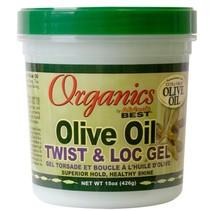 Olive Oil Twist & Loc Gel 15 oz