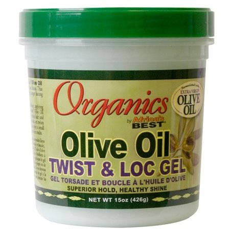AFRICA'S BEST ORGANICS Olive Oil Twist & Loc Gel 15 oz