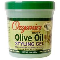 Olive Oil Styling Gel 15 oz