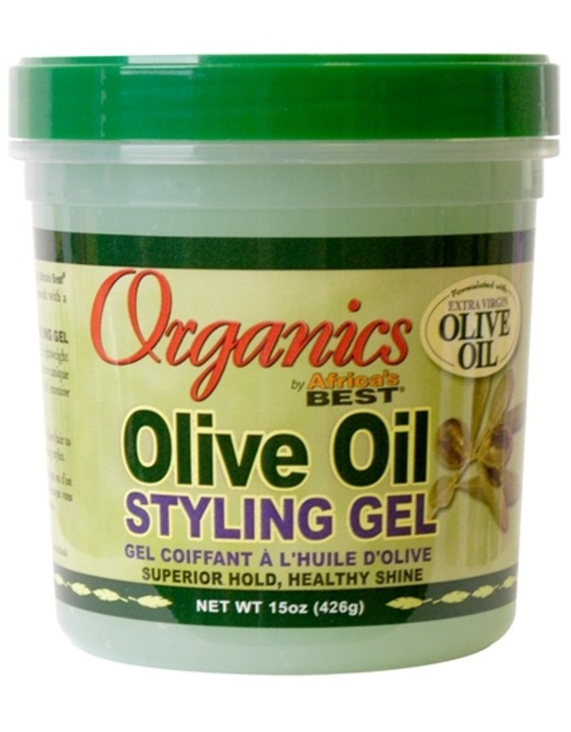 AFRICA'S BEST ORGANICS Olive Oil Styling Gel 15 oz