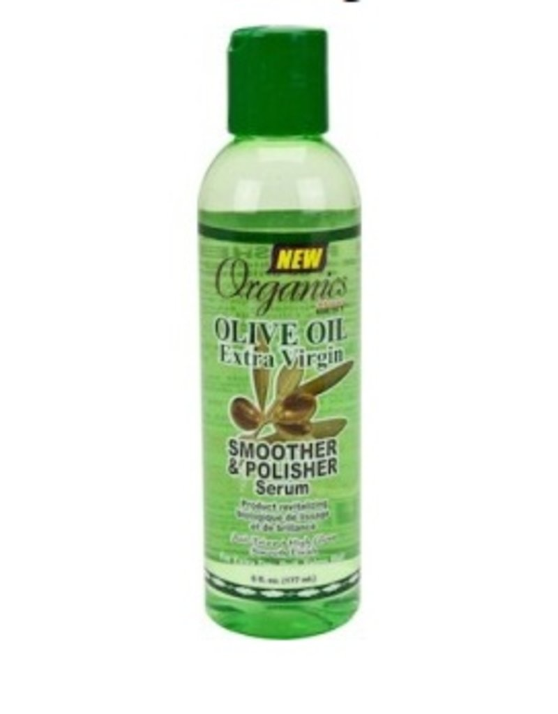 AFRICA'S BEST ORGANICS Olive Oil Smoother & Polisher Serum 6 oz