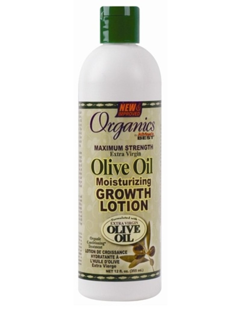 AFRICA'S BEST ORGANICS Olive Oil Moisturizing Growth Lotion 12 oz