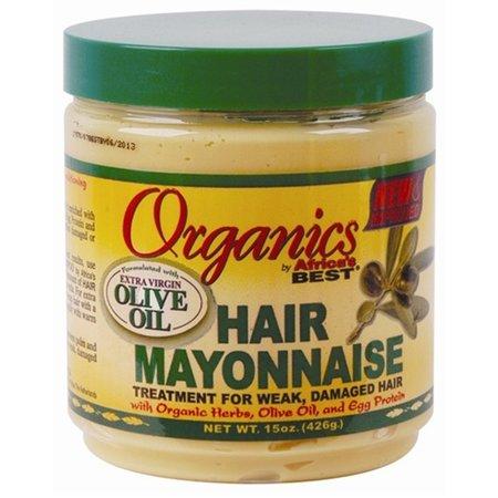 AFRICA'S BEST ORGANICS Olive Oil Hair Mayonnaise 15 oz