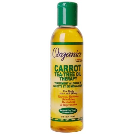 AFRICA'S BEST ORGANICS Carrot Tea-Tree Oil Therapy 6 oz