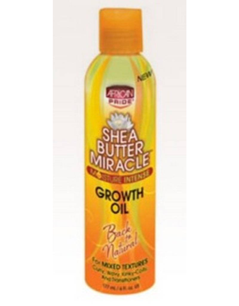 AFRICAN PRIDE SHEA BUTTER MIRACLE Growth Oil 6 oz