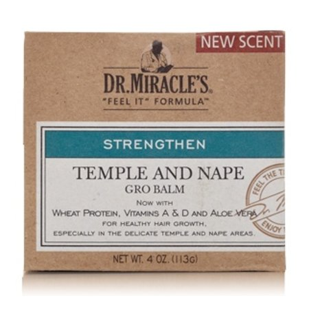 DR. MIRACLE'S Temple and Nape Gro Balm 4 oz