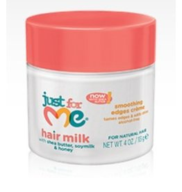 JUST FOR ME Hair Milk Smoothing Edges Creme 4 oz