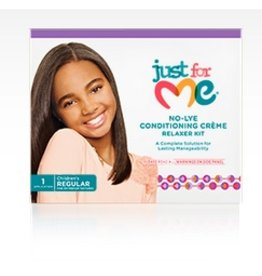 JUST FOR ME No-Lye Conditioning Relaxer Kit - Regular
