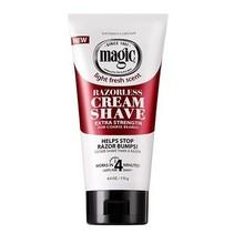 Razorless Cream Shave - Extra Strength 6 oz