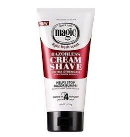 MAGIC Razorless Cream Shave - Extra Strength 6 oz