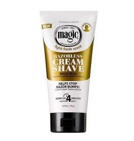MAGIC Razorless Cream Shave - Bald Head 6 oz