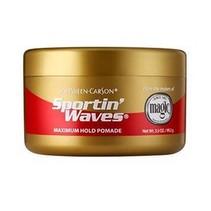 Sportin' Waves Maximum Hold Pomade 3.5 oz