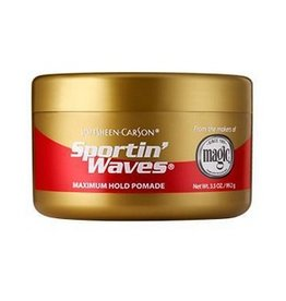 MAGIC Sportin' Waves Maximum Hold Pomade 3.5 oz