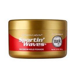 MAGIC Sportin' Waves Maximum Hold Pomade 3.5 oz