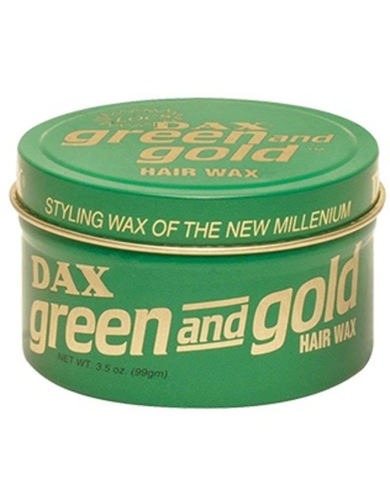 DAX Green and Gold Hair Wax 3.5 oz