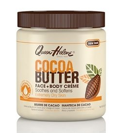 QUEEN HELENE Cocoa Butter Face & Body Creme 15 oz