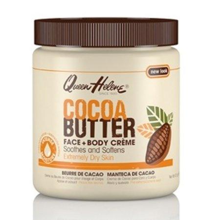 QUEEN HELENE Cocoa Butter Face & Body Creme 15 oz