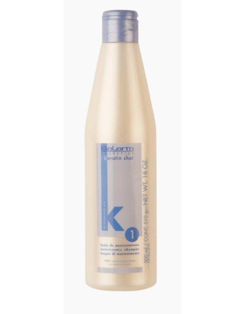 SALERM K1 Keratin Shot Maintenance Shampoo 500 ml