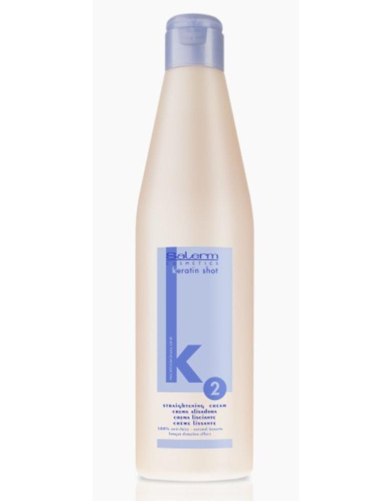 SALERM K2 Keratin Shot Straightening Cream 500 ml