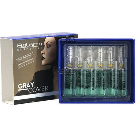 SALERM Gray Cover (12 pcs. a 5 ml)